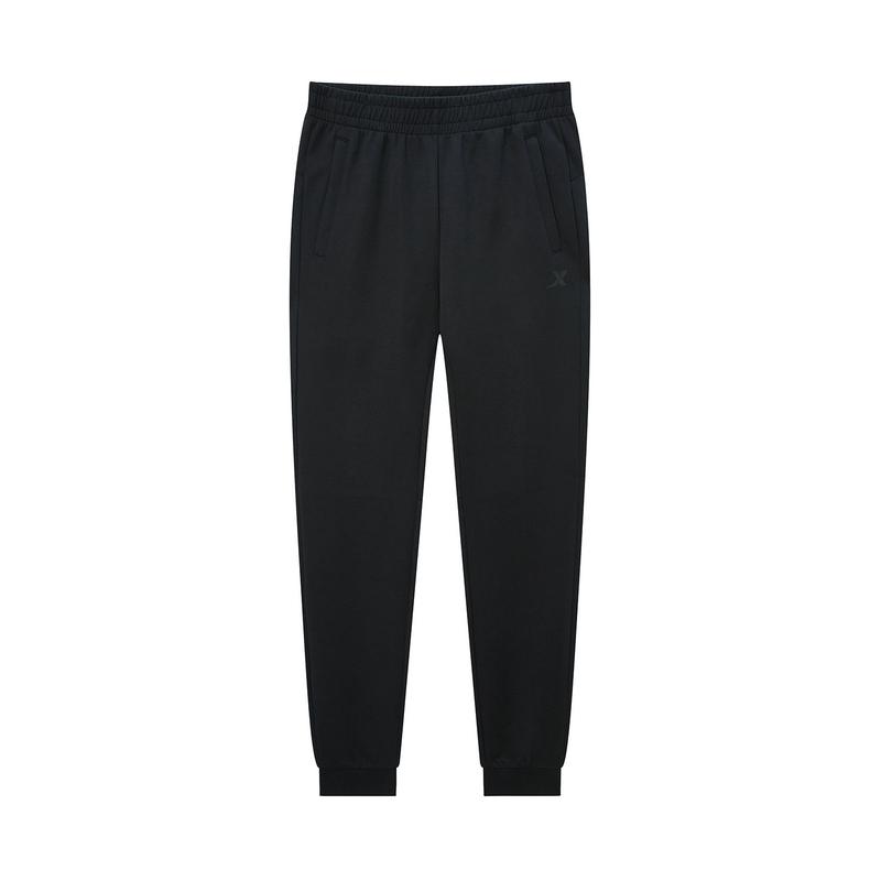 【暖春焕新】特步 专柜款 男子针织长裤 2020年新款舒适健身收口裤980129630134