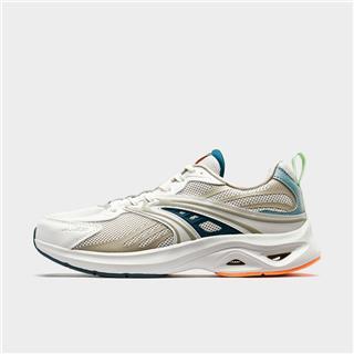 特步 专柜款 男子春季厚底防滑耐磨网面透气跑步鞋980119110570