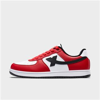 特步 男子棉鞋 19冬新款加绒保暖革面滑板鞋881419379851