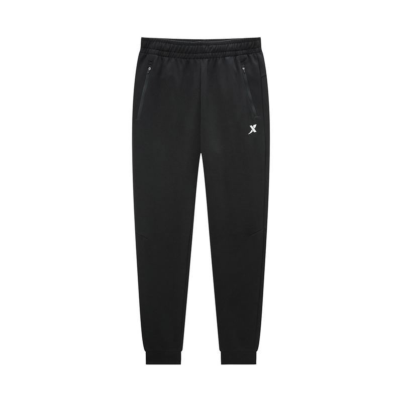 特步 专柜款 男子针织长裤 2020新款休闲男裤男士运动休闲针织长裤980129630335