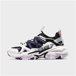 【山海系列】特步 女子休闲鞋 2020年新款都市休闲老爹鞋880118320120