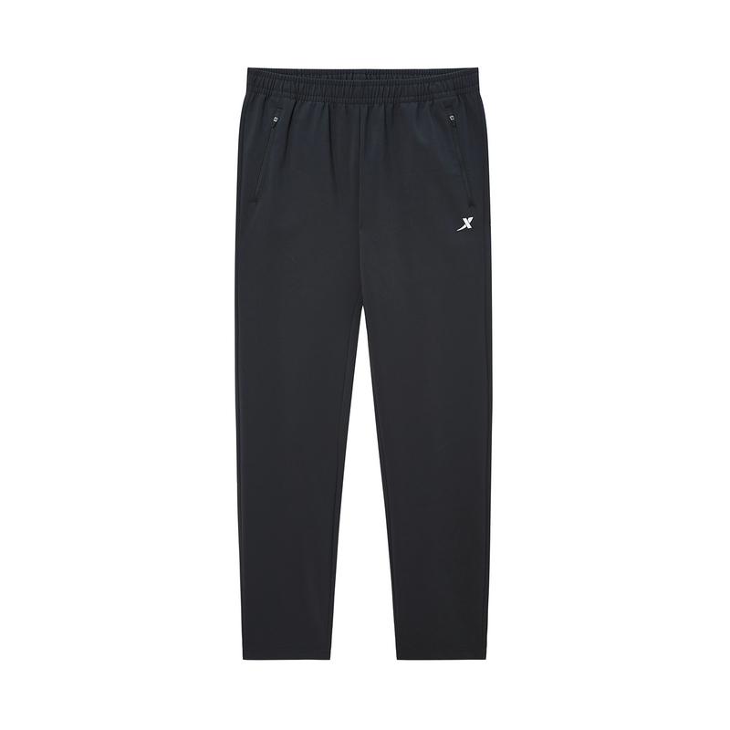特步 专柜款 男子长裤 2020春季新款跑步运动梭织长裤980129980327
