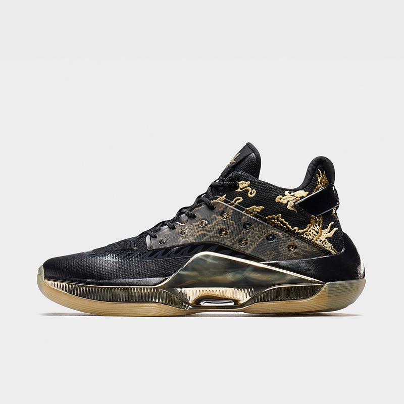 【游云4代】特步 专柜款 男子篮球鞋 19新款林书豪中国龙同款运动鞋981419121323