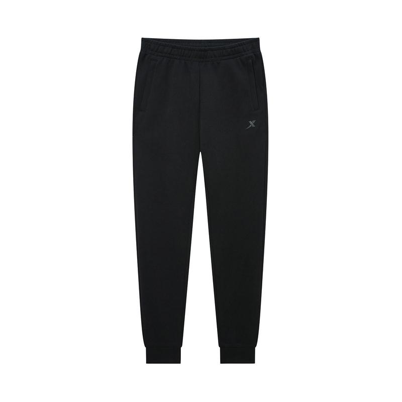 特步 专柜款 女子针织长裤 20年春新款跑步运动小脚裤980128630290