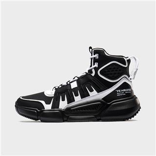 特步 专柜款 男子篮球鞋 时尚街头包裹高帮运动鞋981419121237