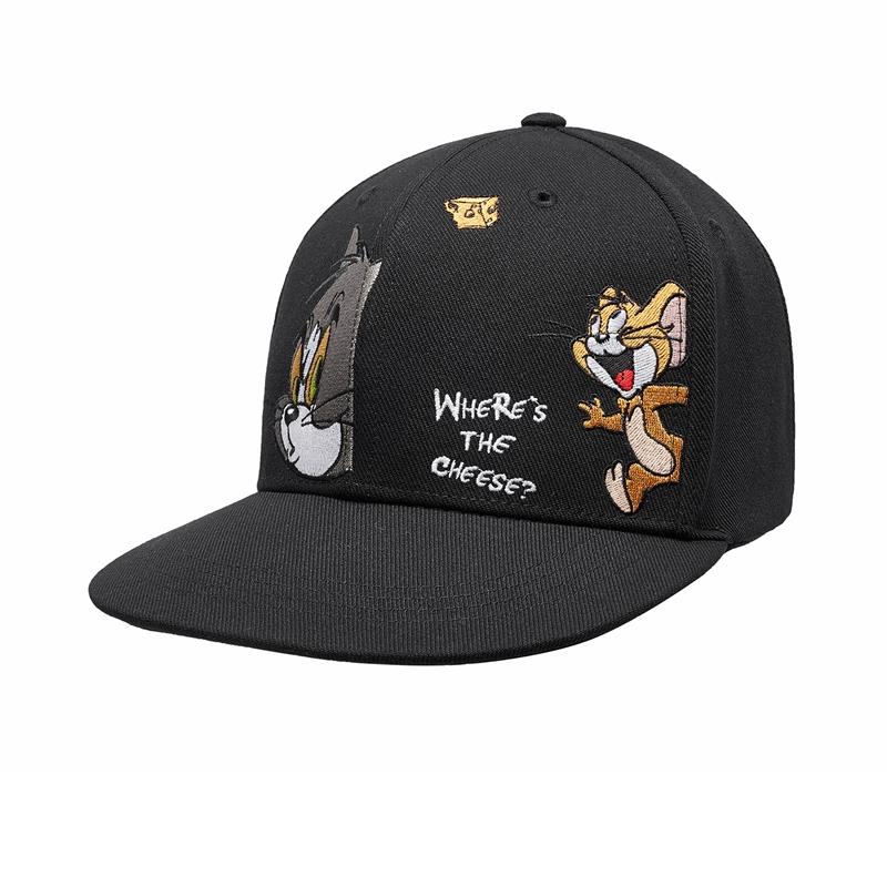 【猫和老鼠联名款】特步 男女平檐帽 20年新款情侣款休闲帽880137210046