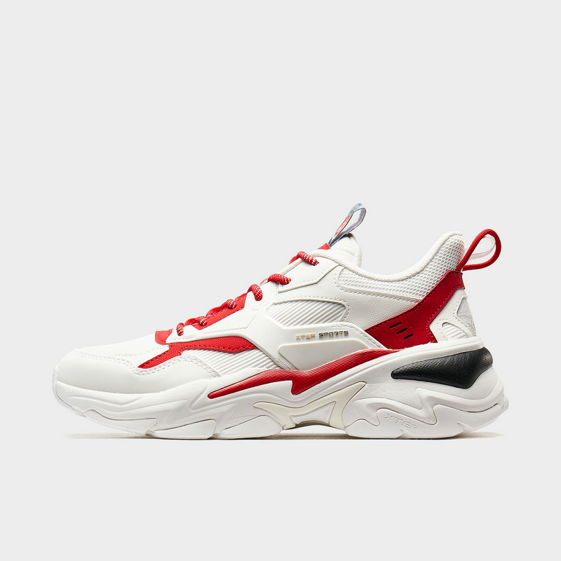【山海系列】特步 男子休闲鞋 2020新款运动鞋秋冬季鞋子男士休闲鞋老爹鞋880119320121
