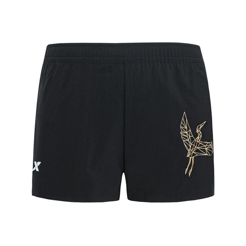 特步 专柜款 女子专业跑步运动短裤厦门马拉松纪念款981328240577