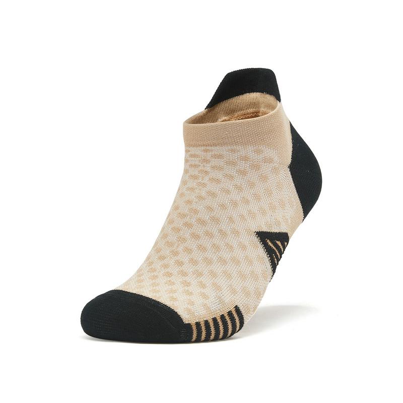 特步 专柜款 男子新款运动平板跑步短袜厦门马拉松短袜981339512747