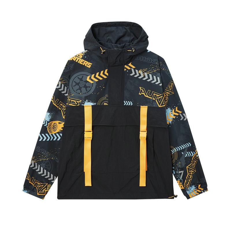 【变形金刚联名款】特步 专柜款 男子夹克 20年春新款连帽保暖外套980129130453