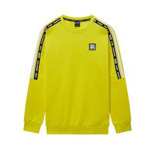 特步 专柜款 男子卫衣 2020春季新款圆领舒适运动卫衣保暖套头衫980129920187