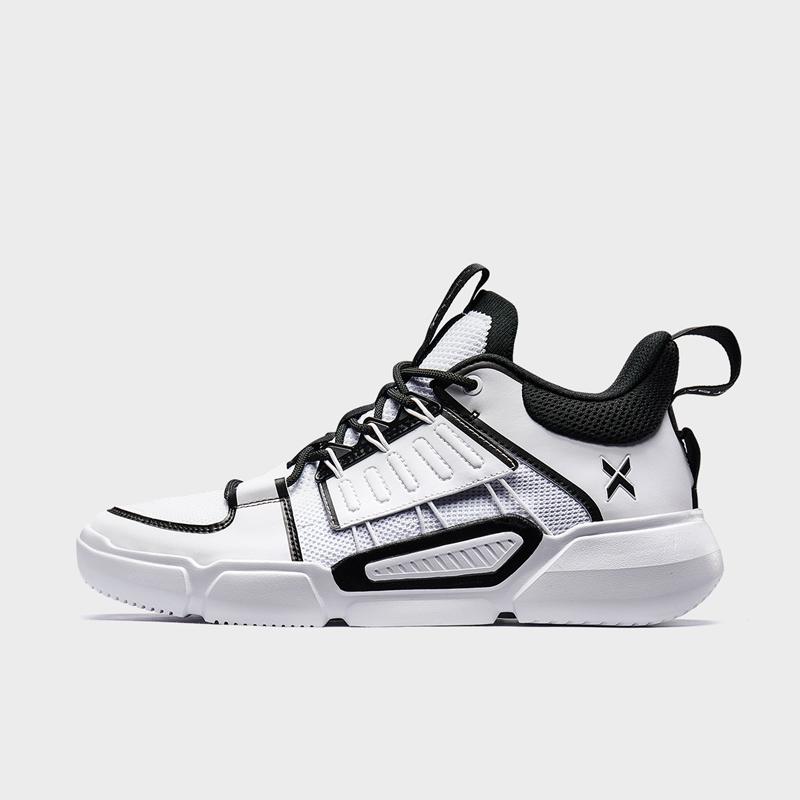 特步 男子篮球鞋 2020年春季新款透气舒适运动篮球鞋880119120088