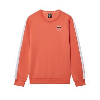 特步 专柜款 女子卫衣 20年春新款侧边条纹运动套头衫980128920485