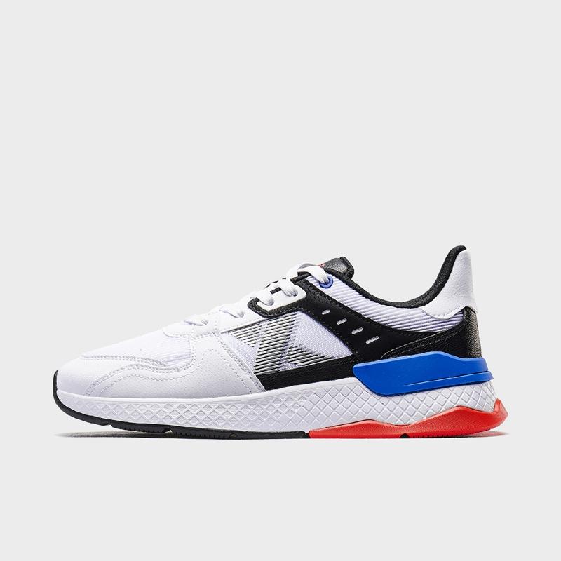 特步 专柜款 男子休闲鞋 新款加厚大底防滑耐磨舒适透气休闲鞋980119320163