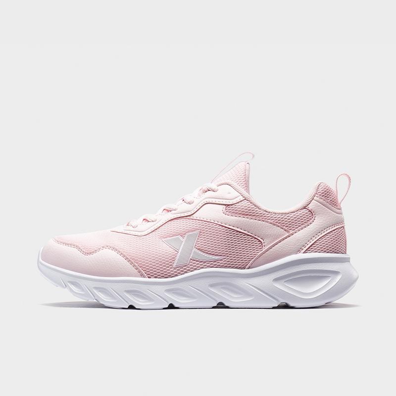 特步 女子跑鞋 20年春新款简约网面运动鞋880118115036
