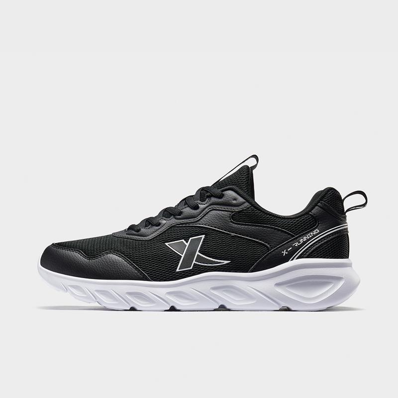 特步 男子跑鞋 20年新款减震回弹轻便网面运动鞋880119115036