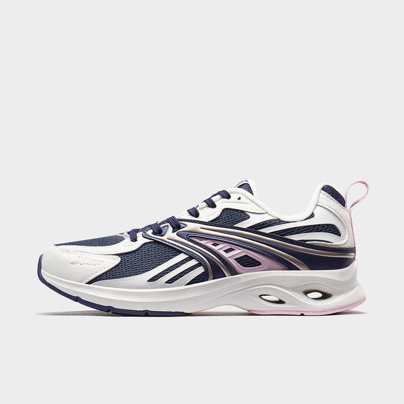 特步 专柜款 女子跑鞋 20年春新款时尚网面跑步运动鞋980118110570