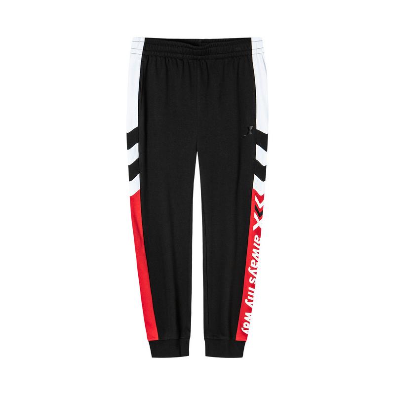 特步 男子针织长裤 2020年春季新款休闲运动时尚长裤880129630111