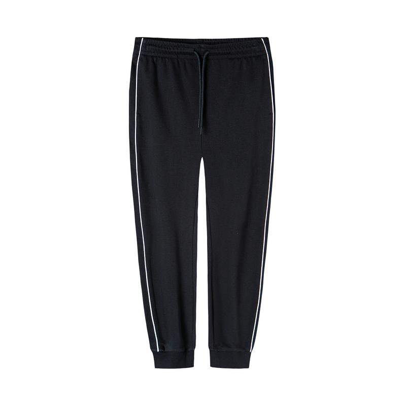 特步 女子针织长裤 2020年春季新款休闲运动针织时尚长裤880128630119