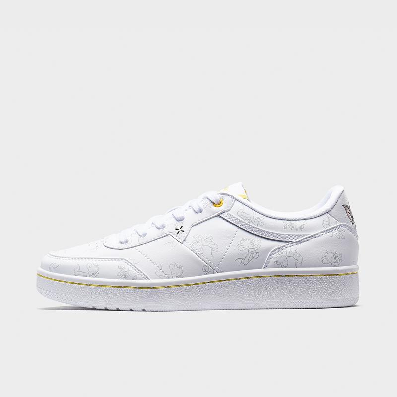 【猫和老鼠联名款】特步 专柜款 女子板鞋 2020年春季新款白色潮流休闲鞋女鞋980118316607