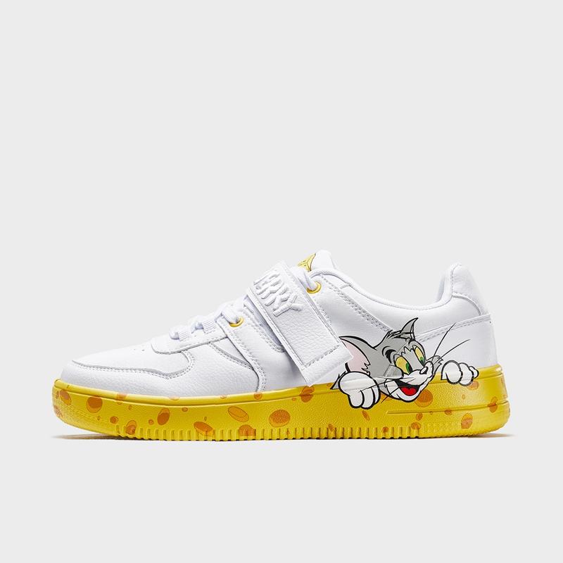 【猫和老鼠联名款】特步 专柜款 男子板鞋 20年新款休闲潮流男鞋980119316606