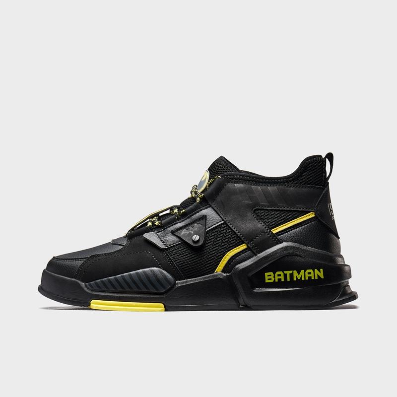 【DC联名款】特步 男子板鞋 20年新款秋冬蝙蝠侠休闲运动鞋880119310108
