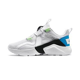 特步 男童休闲鞋 20年春新款儿童中大童网面运动鞋680115329515