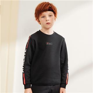特步 男童卫衣 20年春新款中大童儿童套头衫680125209372