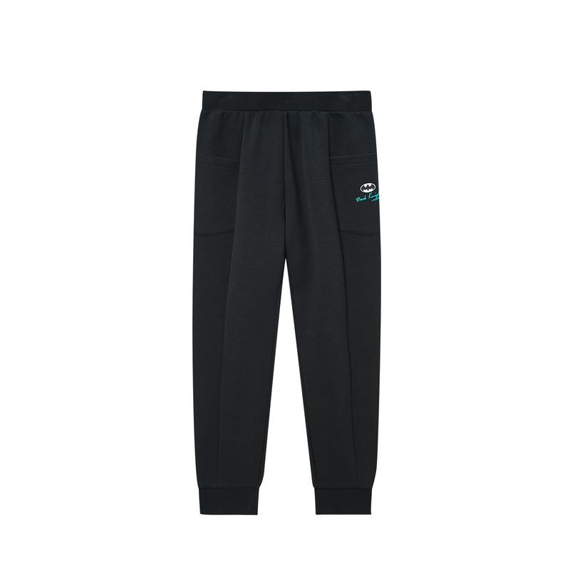 特步 【蝙蝠侠】裤子男童裤新品男孩子休闲运动裤子680125639335
