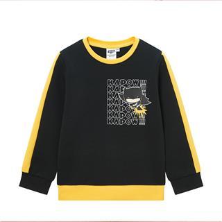 特步【蝙蝠侠】儿童套头卫衣男小童外套打底衫680125209309