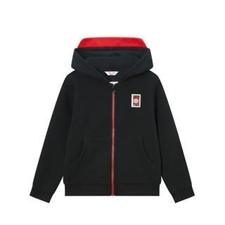 特步 【小怪兽】男童针织连帽上衣儿童小幼童连帽外套680125249312