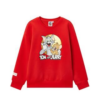 特步【猫和老鼠】儿童套头卫衣女童中大童套头卫衣680124204158