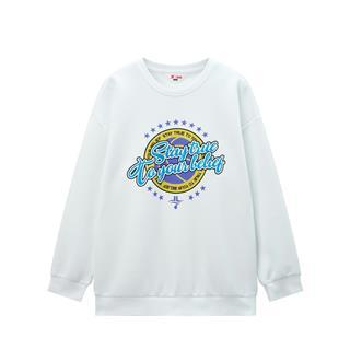 【林书豪联名款】特步 男童卫衣 男童中大童套头卫衣2020年春季新款卡通680125209404