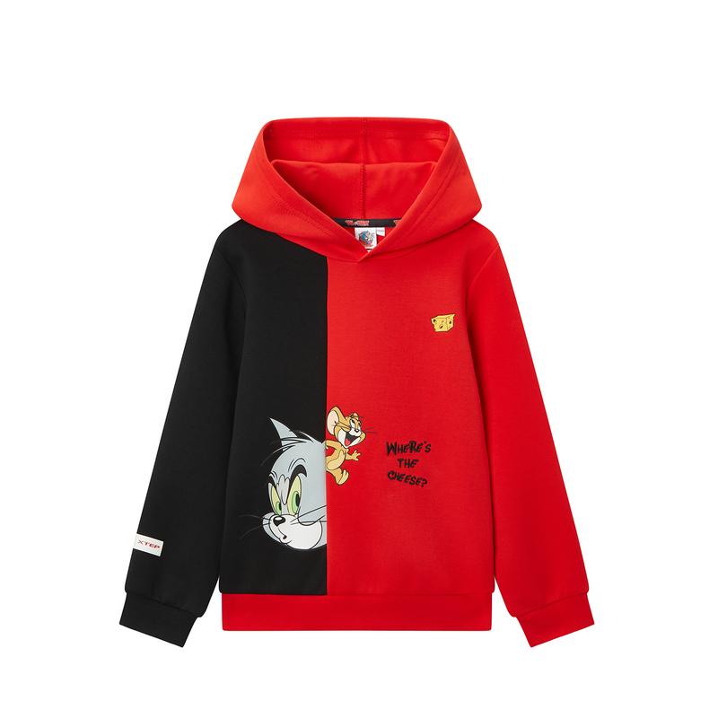 【猫和老鼠】男中大童连帽卫衣时尚休闲外套680125084202
