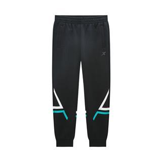 特步 专柜款 男子针织长裤 2020年春季新款收口小脚裤时尚运动针织长裤980129630104