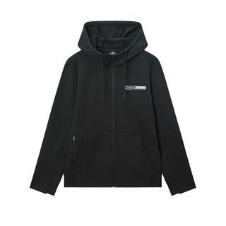 特步 专柜款 男子外套 2020年春季新款时尚综训连帽针织卫衣980129940358