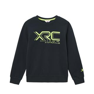特步 男童跑步系列套头卫衣 中大童舒适百搭卫衣680125209342
