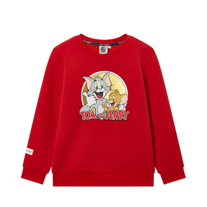 专柜款 【猫和老鼠】男童套头卫衣 潮流时尚百搭中大童卫衣680125204154