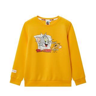 特步 专柜款 【猫和老鼠】男童套头卫衣 潮流时尚百搭中大童卫衣680125204154