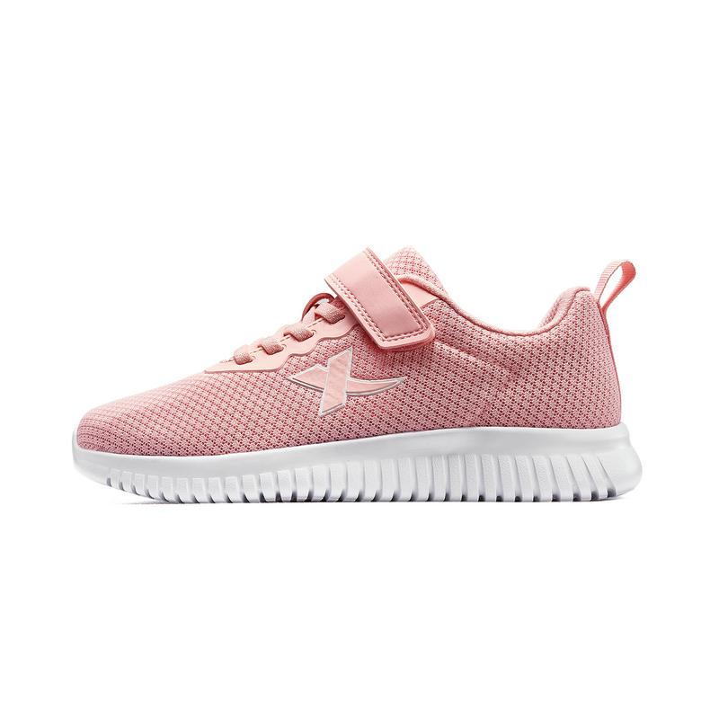 特步 女童跑鞋 20年春新款中大童网面儿童运动鞋680114119519