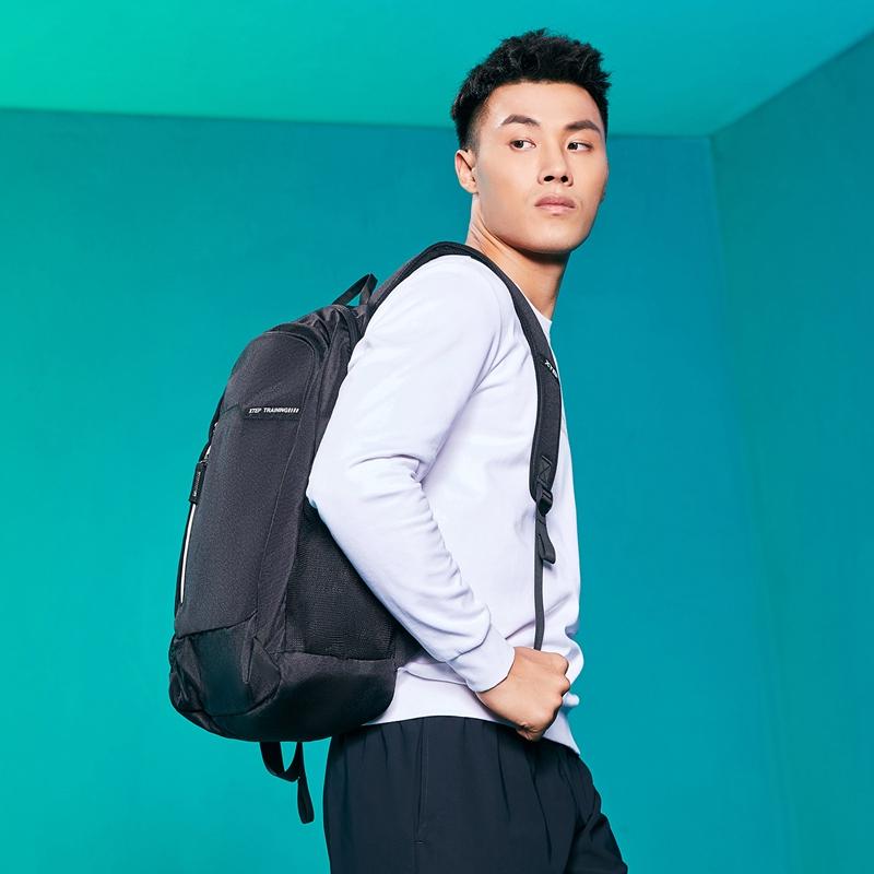 【开学季】特步 男女双肩包 2020春季新款男女双肩包书包运动背包旅游包休闲包881137119120