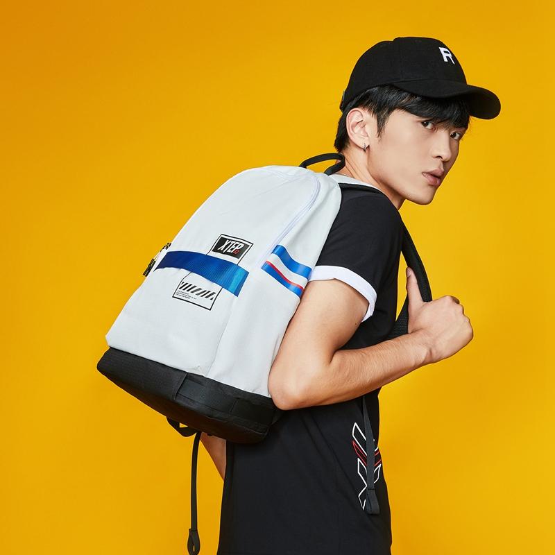 【开学季】特步 男女双肩包 运动休闲背包书包881337119090