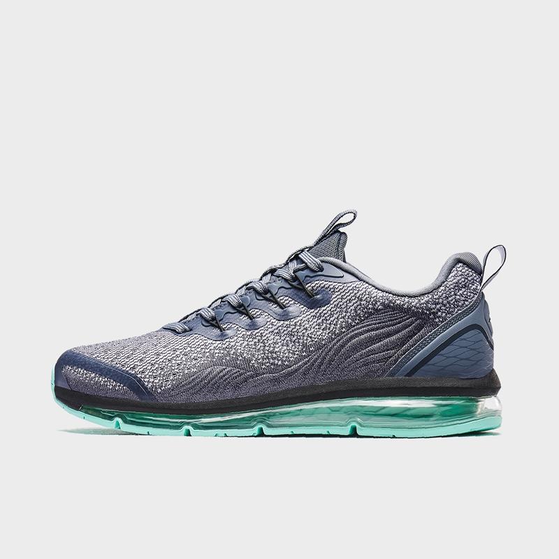 特步 专柜款 男子气垫鞋 新款网面透气潮流时尚运动跑鞋980119110583