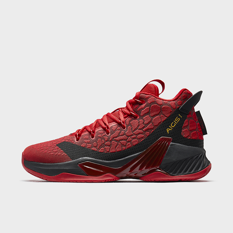 特步 专柜款 男子篮球鞋 防滑耐磨舒适透气高帮篮球鞋980119121272