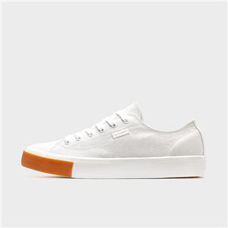 特步 男子帆布鞋 2020春季新款纯色时尚百搭休闲鞋运动鞋学生帆布鞋880119100011