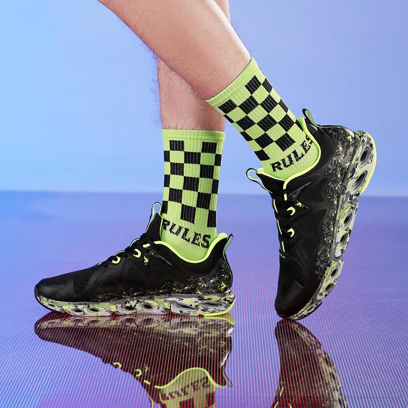 特步 【减震旋科技】男子跑鞋 网面透气舒适大底防滑耐磨运动跑鞋880219110039