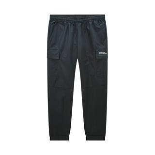 特步 专柜款 男子梭织长裤 都市时尚百搭收口小脚休闲长裤980129560169