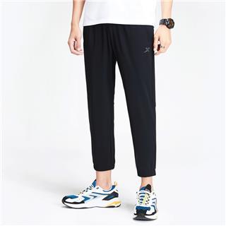 特步 男子针织九分裤 20年春新款健身运动收口裤880129A20143