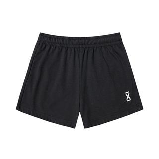 特步 女子针织短裤 20年夏新款休闲简约短裤880228600016