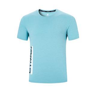 特步 男子短袖针织衫 20年夏新款运动健身T恤880229010068